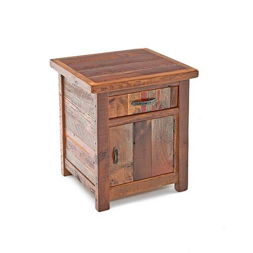 Back To the Barn - 1 Drawer 1 Door Nightstand - (hinged Left)