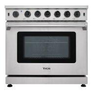 36 Inch Gas Range In Stainless Steel