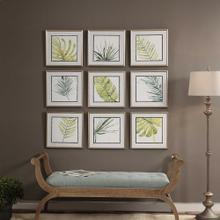 Verdant Impressions Framed Prints, S/9