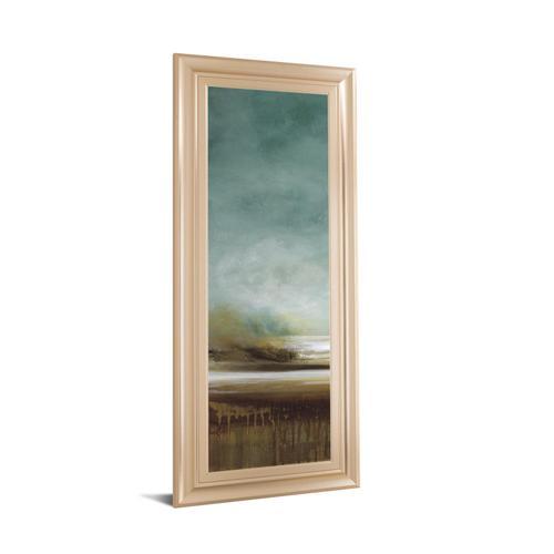 "Classy Art - ""New Horizons I"" By Tesla Framed Print Wall Art"