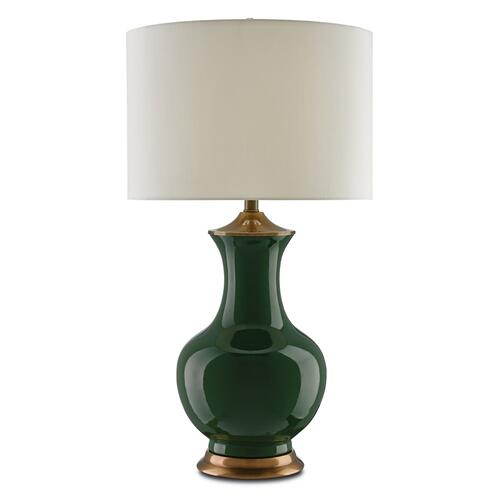 Lilou Green Table Lamp