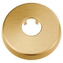 See Details - Moen Brushed gold shower arm flange