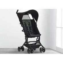 Jeep® Clutch Plus Travel Stroller with Reclining Seat - Black with Olive Green (2182)