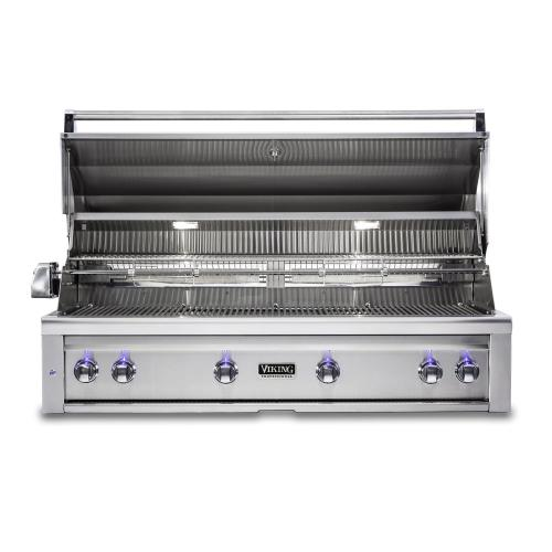 """Viking - 54""""W. Built-in Grill with ProSear Burner and Rotisserie, Propane Gas"""