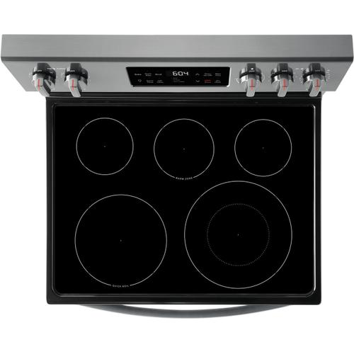 Frigidaire Gallery - Frigidaire Gallery 30'' Freestanding Electric Range with Steam Clean