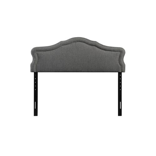Emerald Home Cal King 6/0 Upholstered Headboard Gray #6086-2