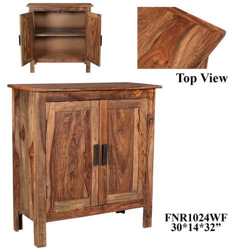 Product Image - 30x14x32 2 Door Sheesham Wooden Cabinet , 1pk/10.07'