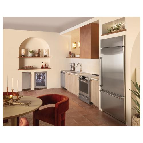 Cafe - Café™ 21.3 Cu. Ft. Built-In Bottom-Freezer Refrigerator