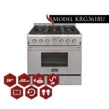 "Model KRG3618U - 36"" Pro Class Kitchen Range"
