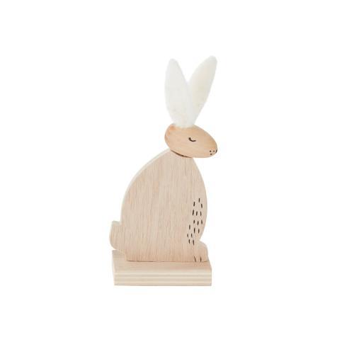 """2.5""""x 1.75""""x 6.25"""" Fuz Bunny Figurine"""