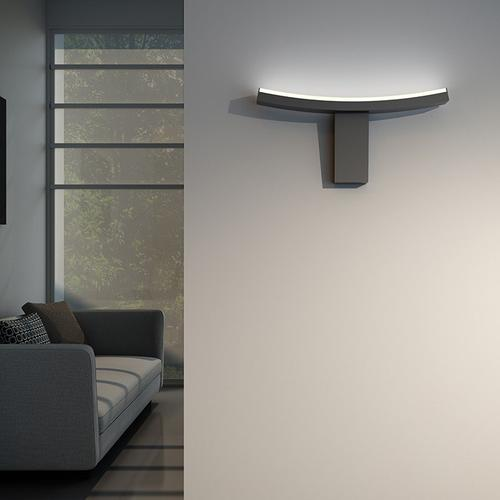Sonneman - A Way of Light - Dao LED Wall Torchiere [Color/Finish=Satin Black]