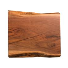 See Details - Live Edge End Table Top, Walnut with Epoxy #17 Natural - FLLIV-03-021-W17
