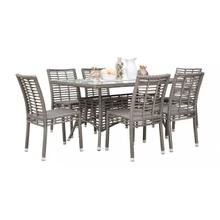 Graphite 7 PC Dining Side Chair Set