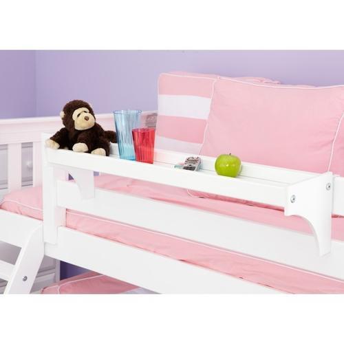 Long Bedside Tray : White