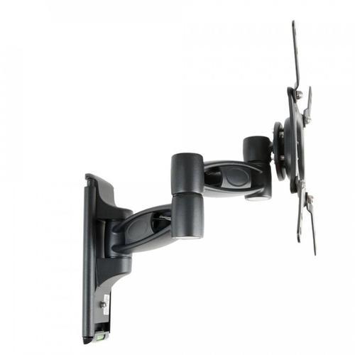 "Single Arm Articulating (Full Motion) Outdoor Weatherproof Mount for 32"" - 43"" TV Screens & Displays - SB-WM-ART1-S-BL (Black)"
