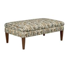 Product Image - Large Cocktail Ottoman-tapered Leg-storage
