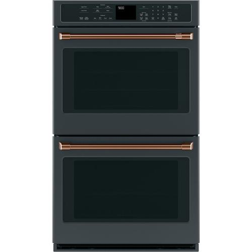 "Café 2 - 30"" Double Wall Oven Handles - Brushed Copper"