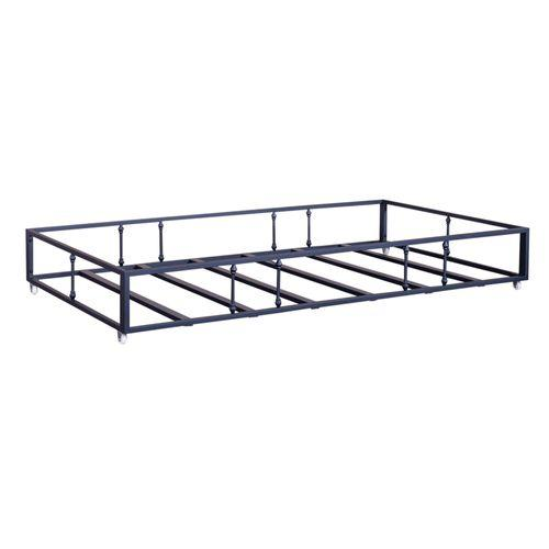 Twin Metal Trundle - Navy