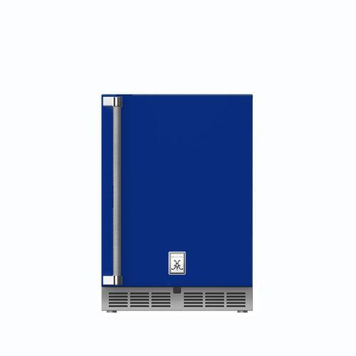 """Hestan - 24"""" Hestan Outdoor Undercounter Refrigerator (Solid Door) - GRSR Series - Prince"""