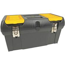 "19"" Tool Box with Removable Tray"
