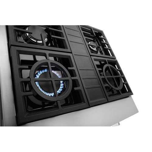 KitchenAid - KitchenAid® 30'' 4-Burner Commercial-Style Gas Rangetop - Stainless Steel