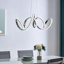See Details - Seville LED Chandelier // Chrome