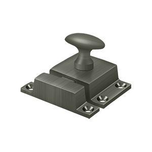 "Deltana - Cabinet Lock, 1-1/2"" x 1-3/4"" - Antique Nickel"