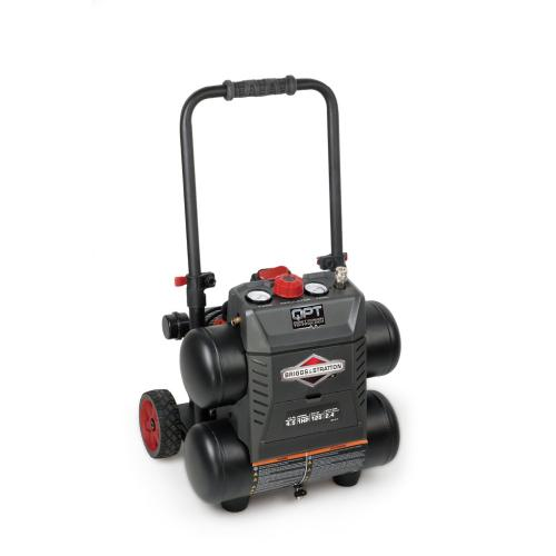 Briggs and Stratton - 4.5 Gallon Air Compressor - with Quiet Power Technology™