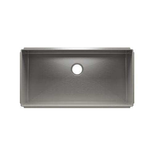 """J7® 003946 - undermount stainless steel Kitchen sink , 36"""" × 18"""" × 10"""""""