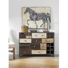 Fourteen Drawer Credenza