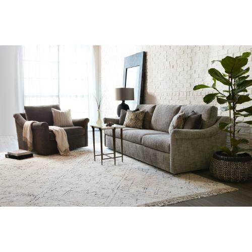 Living Room Danae Chair and Half Swivel