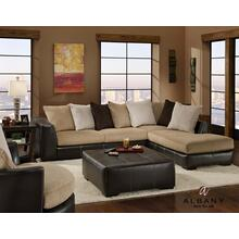 2 PC Sectional | Loose Pillow Back