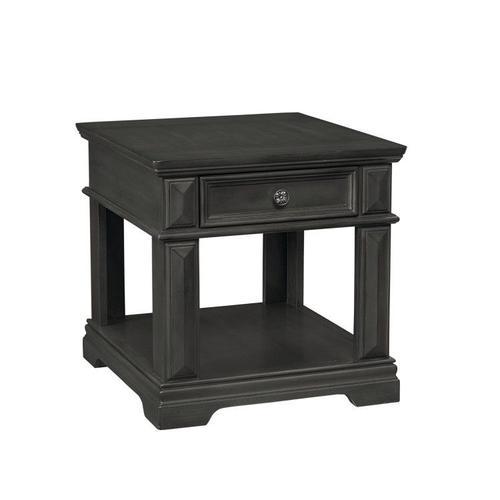 Garrison End Table, Grey