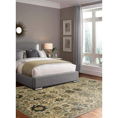 "Touchstone Deveron Willow Grey 5' 3""x7' 10"""