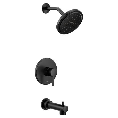 Align matte black m-core 3-series tub/shower