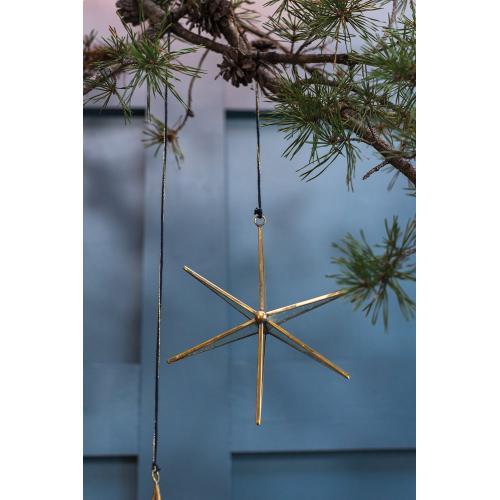 """8""""x 2.25""""x 8.5"""" Northern Star Ornament"""