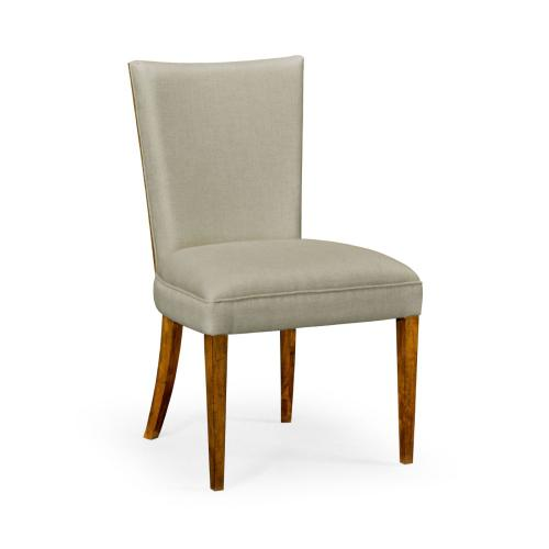 Biedermeier Style Walnut Dining Side Chair (MAZO)