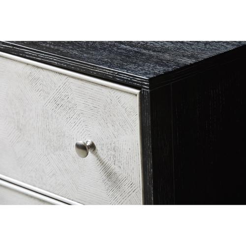 Two Tone Ash/White Drawer Chest