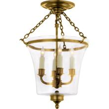 Visual Comfort CHC2209AB E. F. Chapman Sussex 4 Light 12 inch Antique-Burnished Brass Semi-Flush Ceiling Light