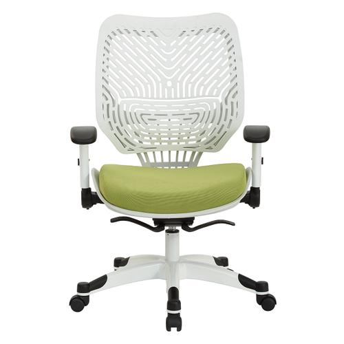 White Self Adjusting Spaceflex Back Managers Chair