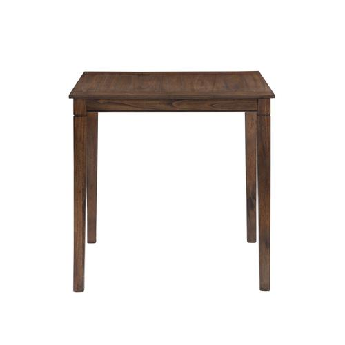 Westlake 5-Pack Counter Set, Brown (Counter Table & 4 Counter Stools)
