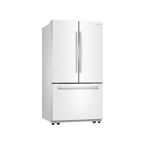 26 cu. ft. French Door Refrigerator with Filtered Ice Maker in White