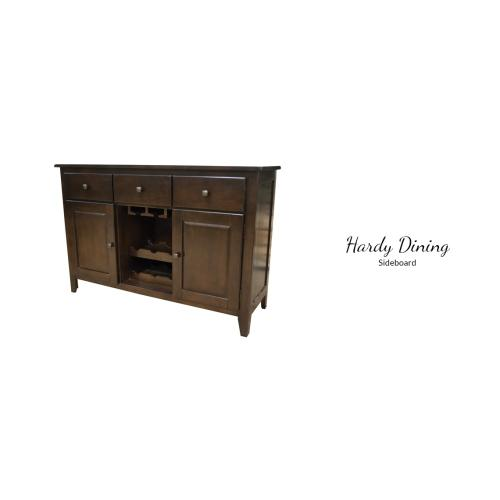 "Gallery - Hardy Dining Table, 60""L (78"" w/ leaf) X 42""D X 30""H"
