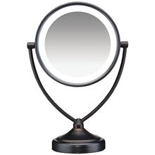 Illuminations 1x/10x Fluorescent Vanity Mirror