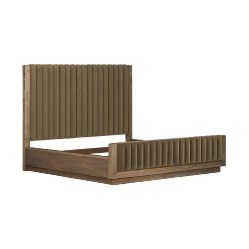 A.R.T. Furniture - Woodwright King Mulholland Upholstered Bed