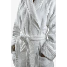 Gotham Unisex Robe Small in White/White