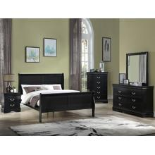 Louis Philp Dresser Top Black