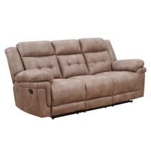 Anastasia Manual Reclining Sofa, Cocoa