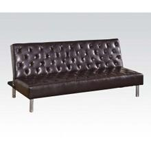 Brown Pu Adjustable Sofa @n