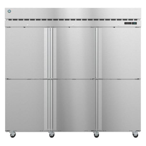 Hoshizaki - R3A-HS, Refrigerator, Three Section Upright, Half Stainless Doors with Lock